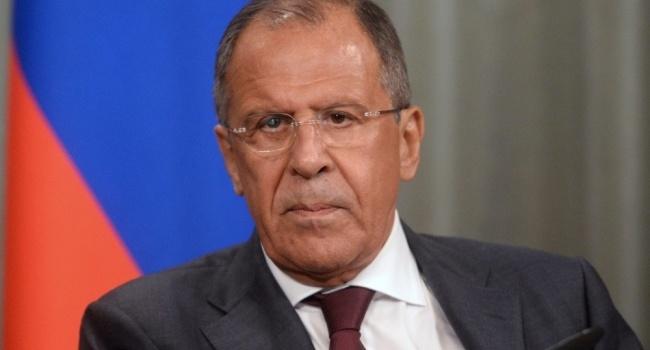 Лавров обвинил Украинское государство внападении наДонбасс