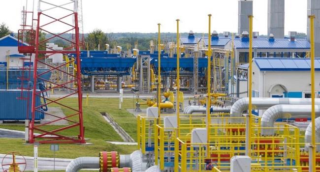 Украина импортировала газ насумму два млрд долларов
