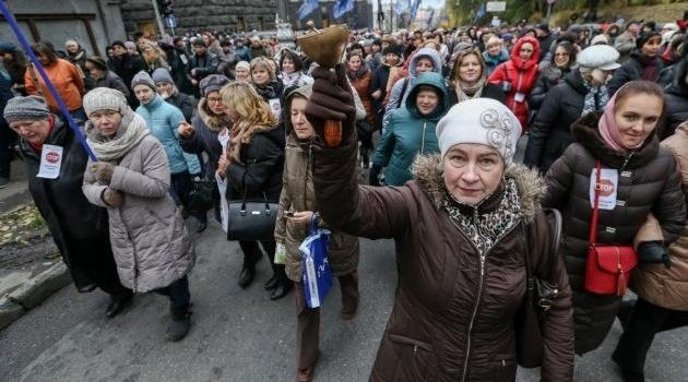 Журналист рассказала, почему акции протеста под Верховной Радой завершились провалом