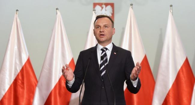 Президент Польши вдекабре посетит Украину