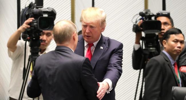«Ничего незнаю»: Путин странно отреагировал напредложение США поДонбассу