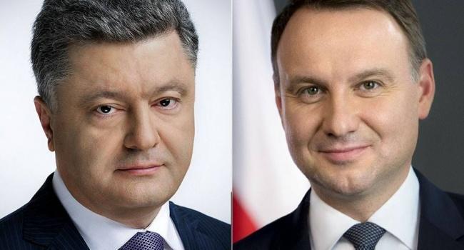 Порошенко і Дуда домовилися провести засідання Комітету президентів уКракові наступного тижня