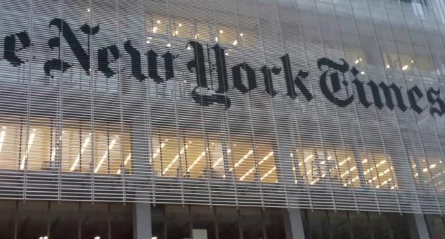 The New York Times пояснила появление карты со«спорным» Крымом