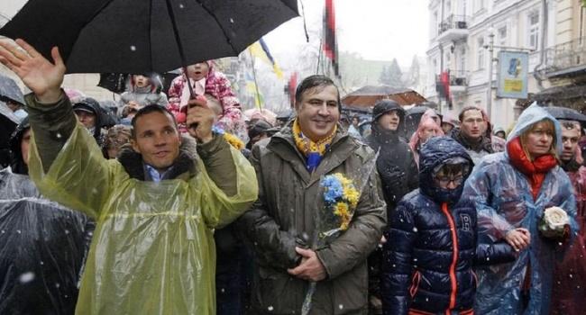 Саакашвили уже начал собирать коалицию в Раде, пока аж из трех нардепов, они же претенденты на министерские портфели