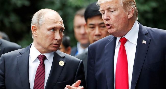 Белый дом проинформировал, что телефонный разговор В. Путина иТрампа уже состоялся