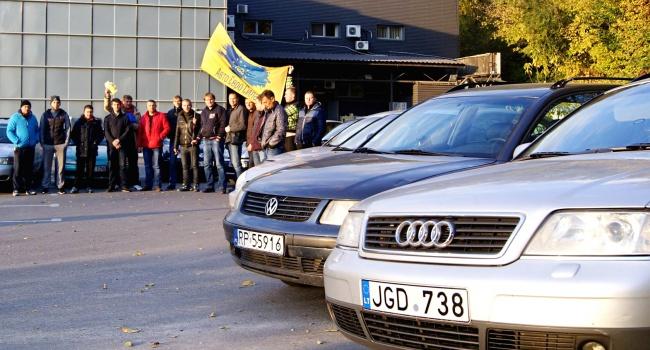 Литва сделала официальное объявление понерастаможенным авто вгосударстве Украина