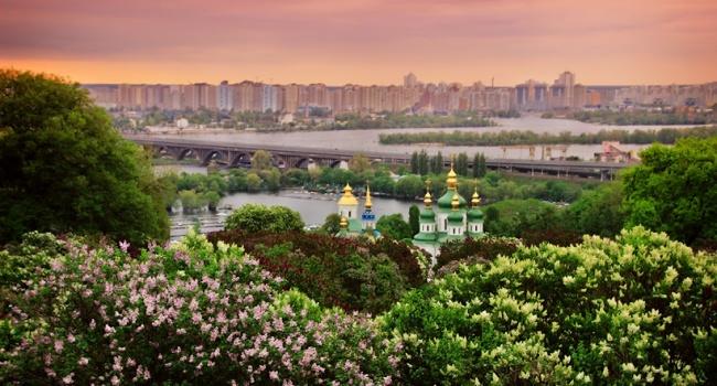 Киев возглавил рейтинг самых зеленных городов Европы