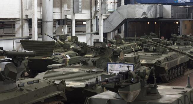 ВУкраинском государстве испытали новейшую машину для пехоты БМП-1УМД