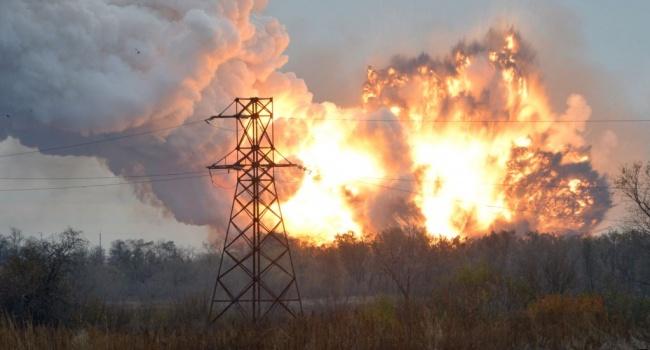 Жители Донецка: «жилмассивы города содрагаются от взрывов БК, все вокруг горит»