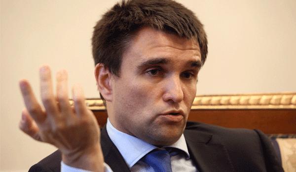 Климкин: ОБСЕ следует ужесточить русские санкции