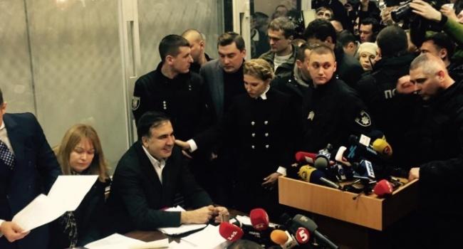 Нусс: команда Саакашвили запустила в СМИ новую манипуляцию