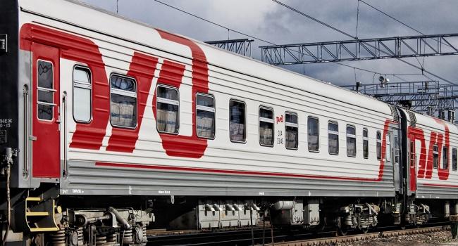 Вгосударстве Украина остался только один русский поезд