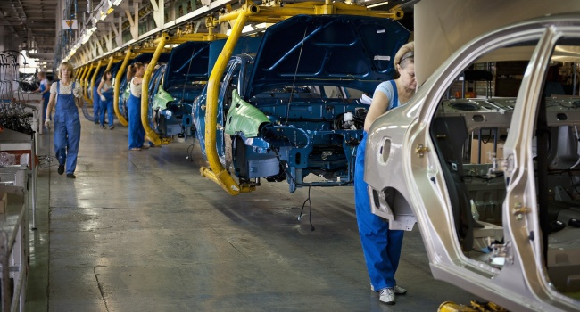 Всамом начале года вгосударстве Украина выросло производство авто