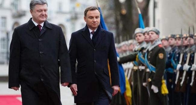 Встречу Порошенко иДуды готовили в наилучших традициях совка— Позорные кадры