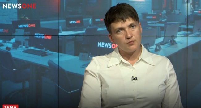 Унижение для Украины: Савченко дала оценку движению Саакашвили