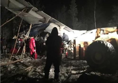 В Канаде потерпел кружение пассажирский самолет, есть раненные