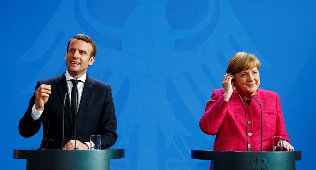 Меркель иМакрон планируют предложить реформу Еврозоны довесны