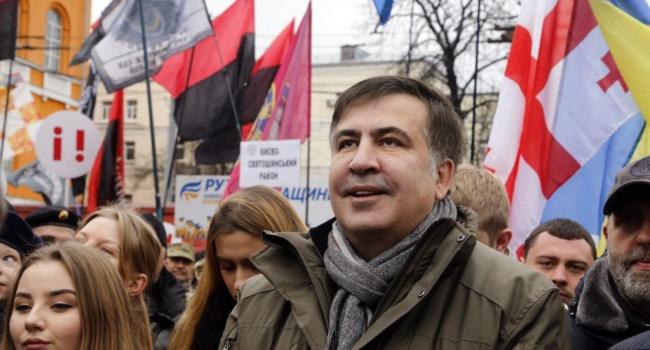 СПорошенко буду говорить только оего отставке— Саакашвили