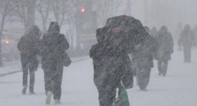 В12 областях государства Украины объявили штормовое предупреждение