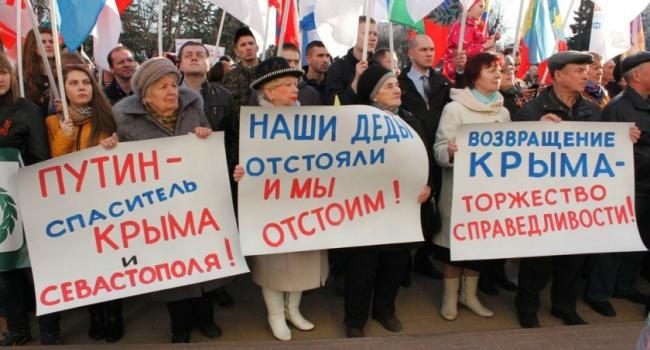 Грымчак: Крым можно вернуть Украине после ужесточения санкций противРФ