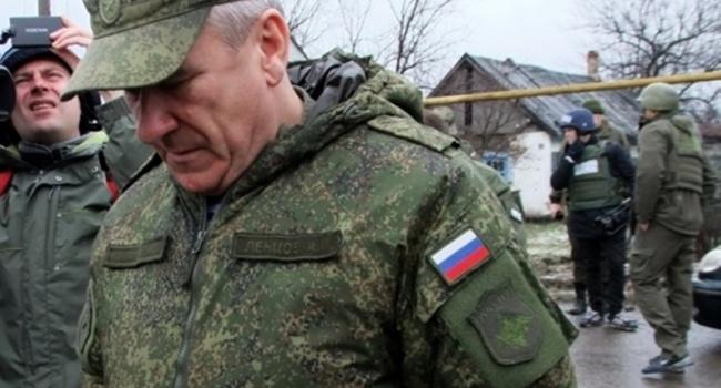 Русские офицеры изСЦКК покинули ДНР ивернулись в РФ