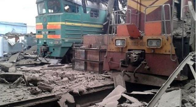 В сети появились снимки ж/д узла в Дебальцево, - станция полностью разрушена
