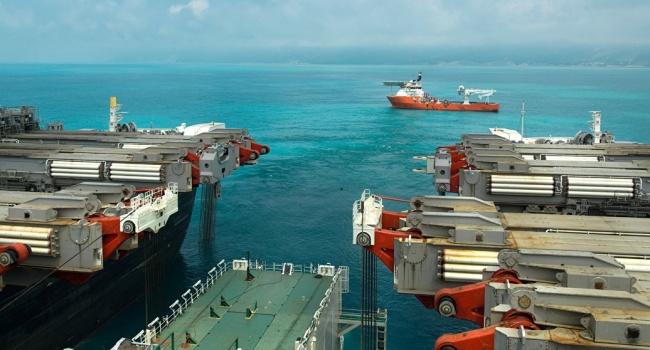 Построены 700км 2-х нитей морского участка «Турецкого потока»— Миллер