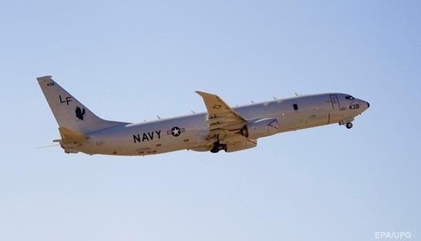 Американский военный самолет летал близ Крыма