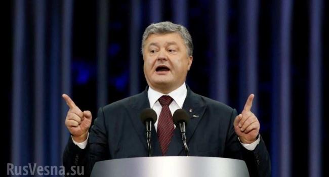 Порошенко: Украинский гимн будет звучать вукраинских Донецке иЛуганске