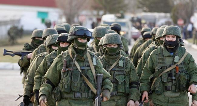 Спутник снял уникальные кадры вторжения войск РФ в Украину