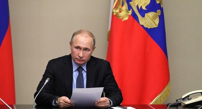Владимир Путин провел совещание с неизменными членами Совета Безопасности