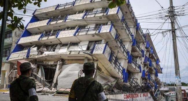 Уберегов Мексики случилось землетрясение магнитудой 6,3