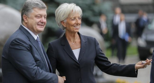 Общий долг Украины перед МВФ составляет 12,1 млрд. долларов