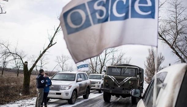 Боевики наДонбассе обстреляли патруль ОБСЕ