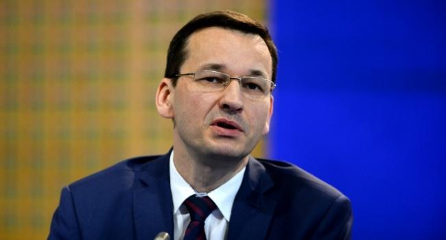 Моравецкий прокомментировал бандеровский закон в Польше