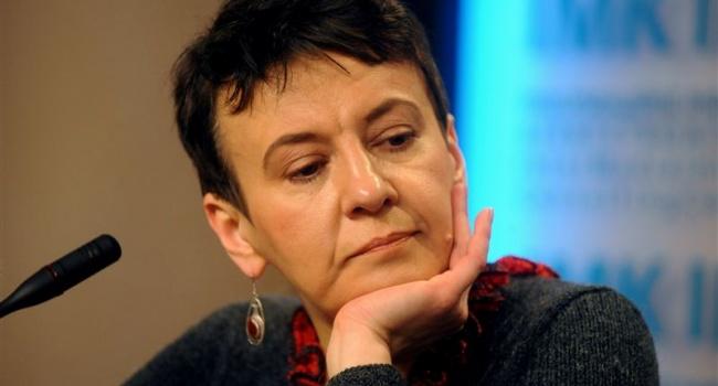 Забужко: когда министр внутренних дел не умеет говорить на государственном языке – это нарушение законодательства