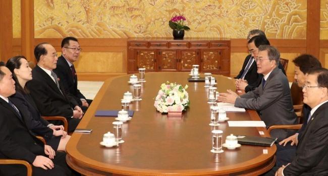 Президент Южной Кореи хочет войти в историю в качестве примирителя двух частей полуострова Южной и Северной Кореи