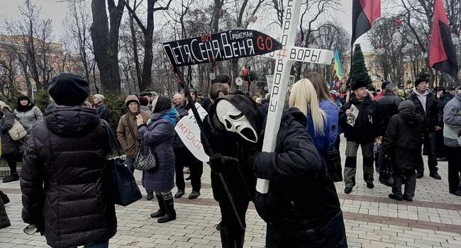 Сторонники Саакашвили обиделись, что «Киев не встал», а украинцы оказались маленькими «порошенками»