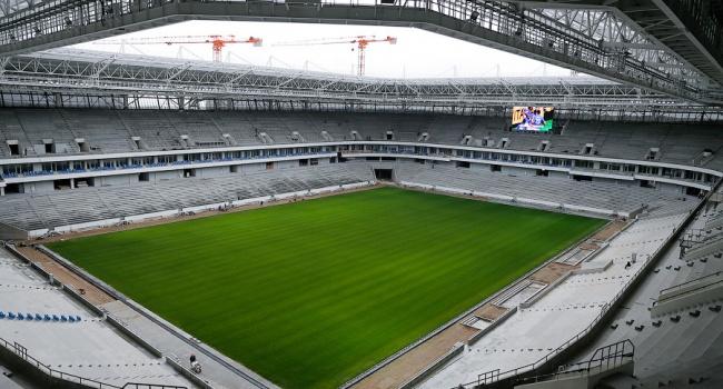 В Российской Федерации стадион кЧМ-2018 начал проваливаться под землю