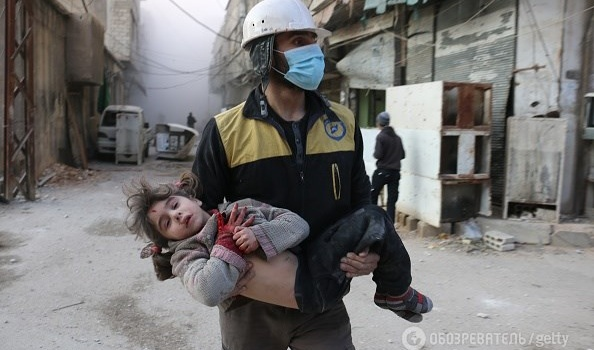 Эскалация в Сирии: авиация Асада и Путина нанесла удар по мирному населению: 500 погибших