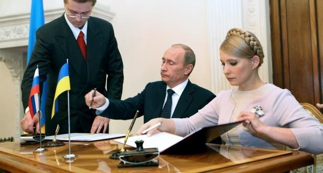 Автограф Тимошенко стоял Украине 20 млрд долларов, которые страна недополучила за транзит газа с 2009 года