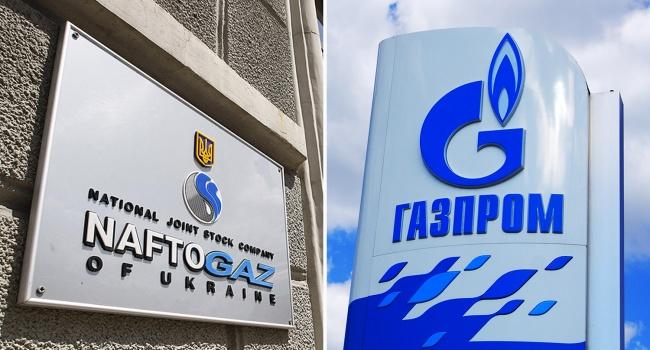 Газпром должен восполнить Нафтогазу закупки газа вевропейских странах