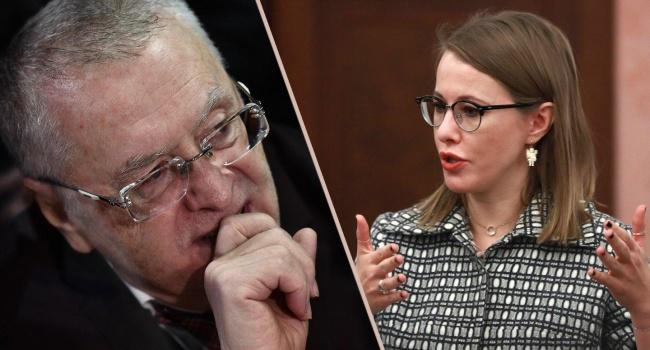 Напавший наКсению Собчак, иобливший ееводой, оказался стажёром московской городской думы
