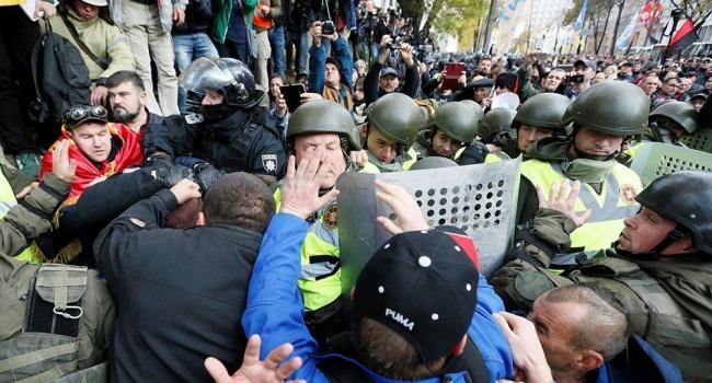 Кремль планирует гражданскую войну в Киеве, – участник АТО