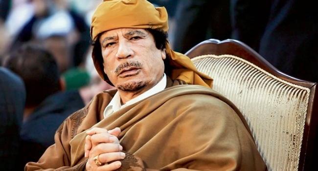 Сзамороженных счетов Каддафи пропало 10млрдевро