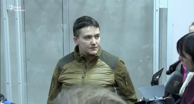 Савченко поддержала Рубана насуде