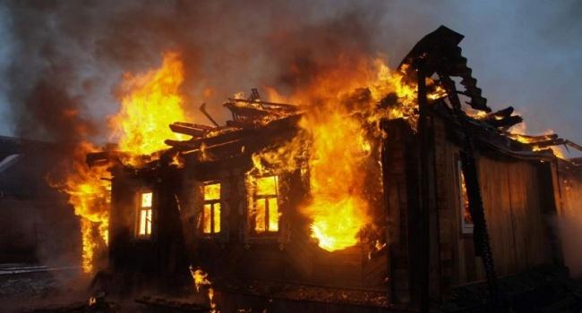 В Кировоградской области трое маленьких детей сгорели заживо
