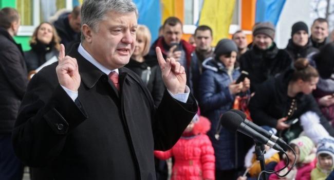 Порошенко: Агрессор пробует переместить эпицентр гибридной войны в столицу Украинского государства
