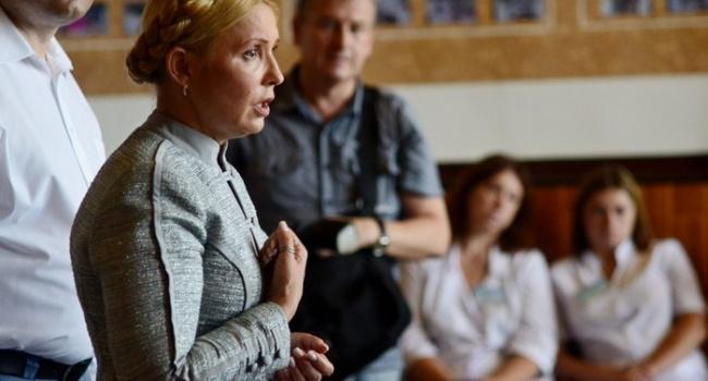 Нусс: ответ Тимошенко на вопрос о лоббистах США – «плевок» в глаза украинскому избирателю
