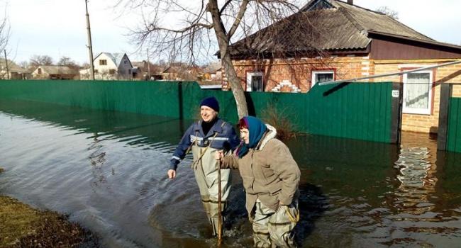 Под угрозой затопления Волынская иЛуганская области— Паводок вУкраинском государстве